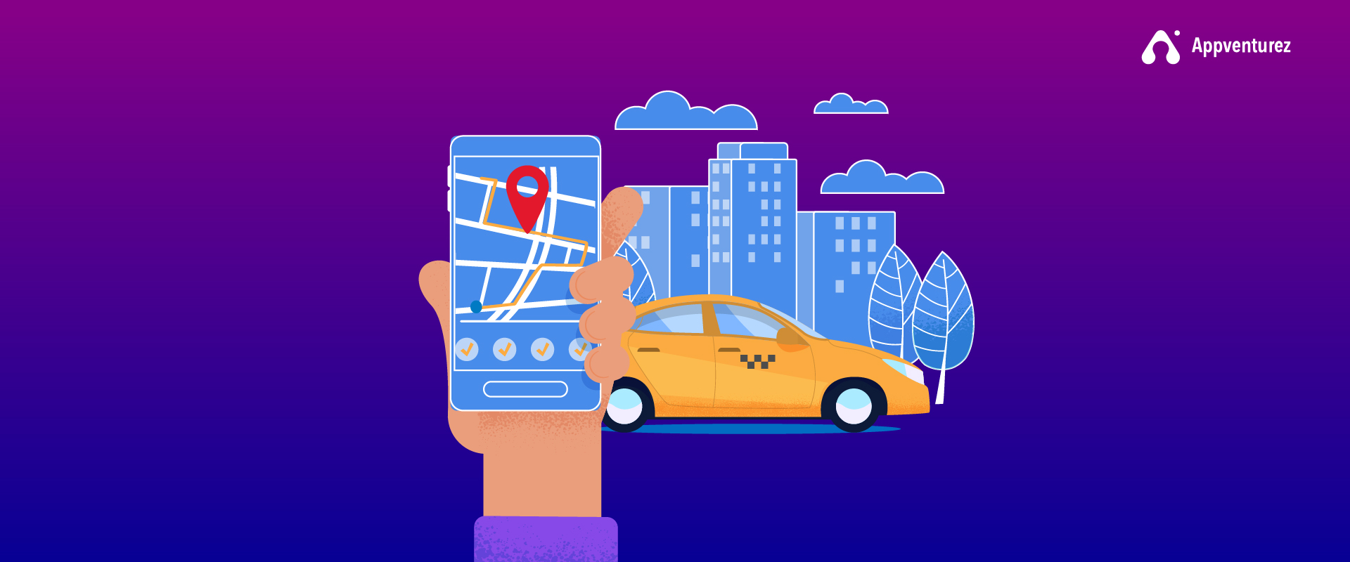 On-Demand Taxi Booking Apps