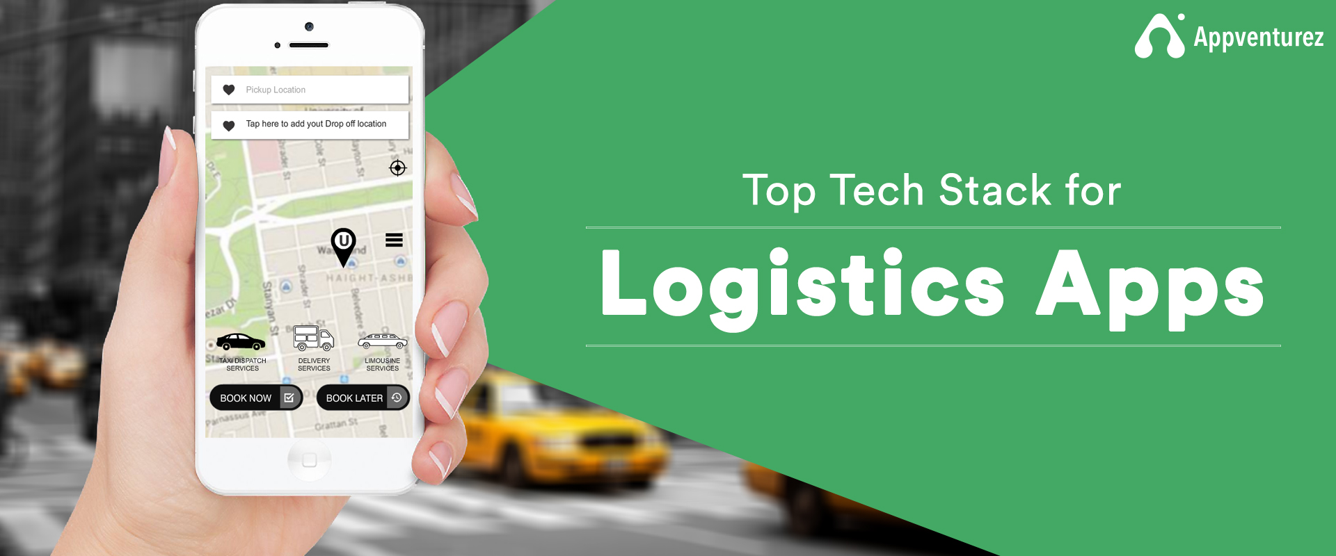 tech stack for logistics app